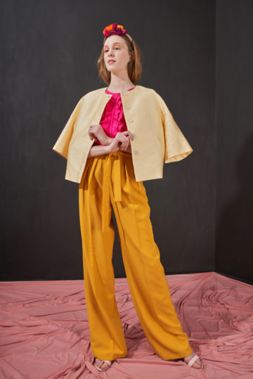 mustard-pants